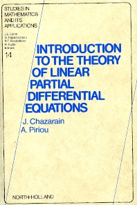 Cover image for Introduction to the Theory of Linear Partial Differential Equations