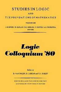 Cover image for Logic Colloquium '80