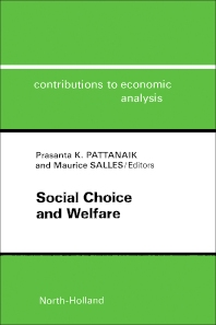 Social Choice and Welfare - 1st Edition - ISBN: 9780444864871, 9781483290591