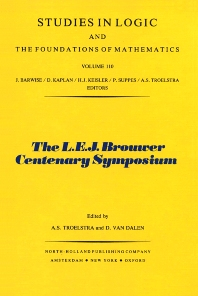 The L.E.J. Brouwer Centenary Symposium - 1st Edition - ISBN: 9780444864949, 9780080960364
