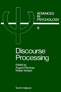 Discourse Processing - 1st Edition - ISBN: 9780444865151, 9780080866628
