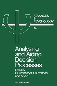 Cover image for Analysing and Aiding Decision Processes