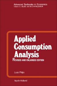 Cover image for Applied Consumption Analysis