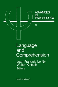 Cover image for Language and Comprehension