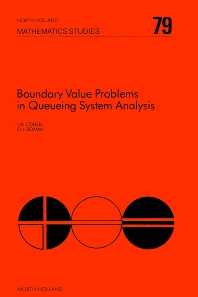 Boundary Value Problems in Queueing System Analysis - 1st Edition - ISBN: 9780444865670, 9780080871905