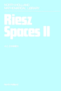 Riesz Spaces II