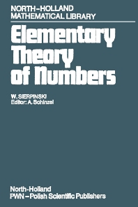 Cover image for Elementary Theory of Numbers