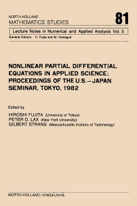 Nonlinear Partial Differential Equations in Applied Science - 1st Edition - ISBN: 9780444866813, 9780080871929