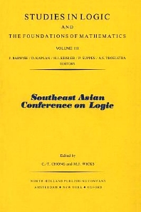 Southeast Asian Conference on Logic - 1st Edition - ISBN: 9780444867063, 9780080960371