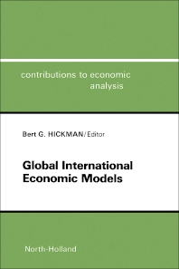 Cover image for Global International Economic Models