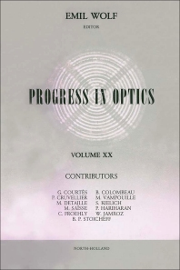 Progress in Optics - 1st Edition - ISBN: 9780444867360, 9780080880020