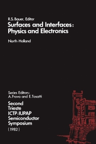 Cover image for Surfaces and Interfaces: Physics and Electronics