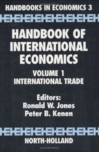 Handbook of International Economics - 1st Edition - ISBN: 9780444867926, 9780080933061