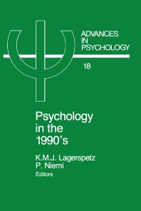 Cover image for Psychology in the 1990's