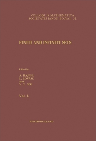 Finite and Infinite Sets - 1st Edition - ISBN: 9780444868930, 9781483161228