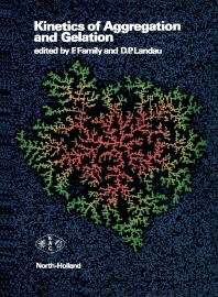Cover image for Kinetics of Aggregation and Gelation