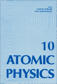Atomic Physics 10 - 1st Edition - ISBN: 9780444870575, 9780444599209