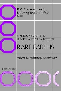 Handbook on the Physics and Chemistry of Rare Earths, 1st Edition,S. Hüfner,L. Eyring,ISBN9780444870636