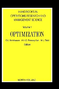 Optimization, 1st Edition,George Nemhauser,ISBN9780444872845