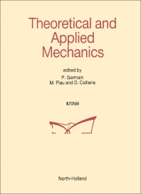 Theoretical and Applied Mechanics - 1st Edition - ISBN: 9780444873026, 9780444600202