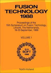 Fusion Technology 1988 - 1st Edition - ISBN: 9780444873699, 9780080984773