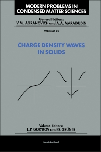 Cover image for Charge Density Waves in Solids