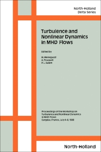 Cover image for Turbulence and Nonlinear Dynamics in MHD Flows