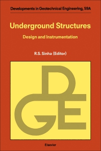 Underground Structures - 1st Edition - ISBN: 9780444874627, 9780444599025