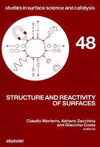 Cover image for Structure and Reactivity of Surfaces