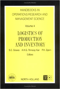 Logistics of production and inventory     Horm. 4 Handbook in Operations Research and Management Science, vol. 4, 1st Edition,UNKNOWN AUTHOR,ISBN9780444874726