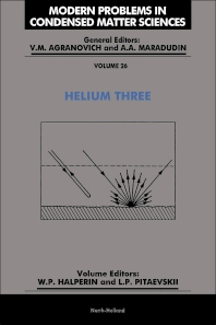 Helium Three - 1st Edition - ISBN: 9780444874764, 9780444598288