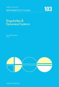Singularities & Dynamical Systems - 1st Edition - ISBN: 9780444876416, 9780080872148