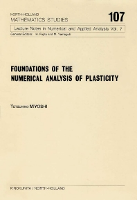 Cover image for Foundations of the Numerical Analysis of Plasticity