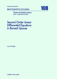 Cover image for Second Order Linear Differential Equations in Banach Spaces