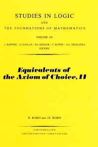 Cover image for Equivalents of the Axiom of Choice, II