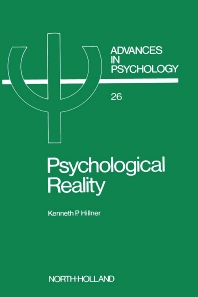 Psychological Reality - 1st Edition - ISBN: 9780444877413, 9780080866802