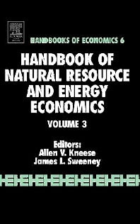 Handbook of Natural Resource and Energy - 1st Edition - ISBN: 9780444878007, 9780080548555