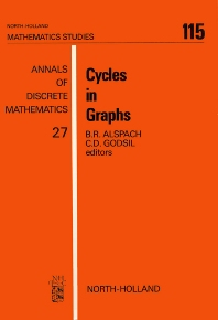 Cycles in Graphs - 1st Edition - ISBN: 9780444878038, 9780080872261