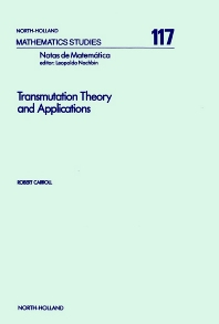 Transmutation Theory and Applications - 1st Edition - ISBN: 9780444878052, 9780080872285