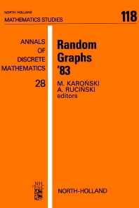 Random Graphs '83 - 1st Edition - ISBN: 9780444878212, 9780080872292