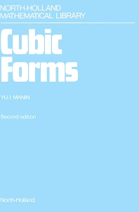Cubic Forms - 2nd Edition - ISBN: 9780444878236, 9780080963167