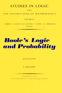 Cover image for Boole's Logic and Probability