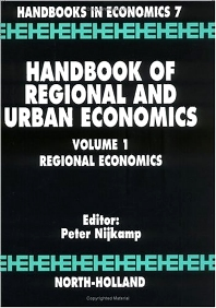 Cover image for Handbook of Regional and Urban Economics