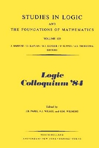Cover image for Logic Colloquium '84