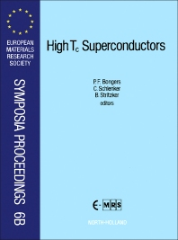 Cover image for High T<sub>c</sub> Superconductors