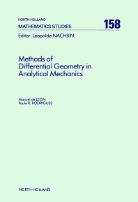 Methods of Differential Geometry in Analytical Mechanics - 1st Edition - ISBN: 9780444880178, 9780080872698