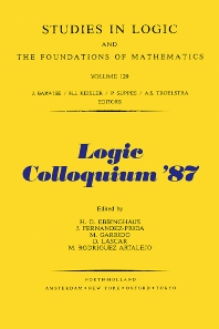Cover image for Logic Colloquium '87
