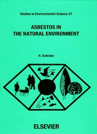 Cover image for Asbestos in the Natural Environment