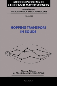 Cover image for Hopping Transport in Solids