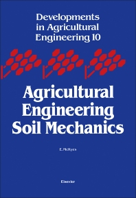 Cover image for Agricultural Engineering Soil Mechanics